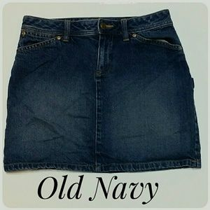 Misses Old Navy Denim Mini-Skirt Size 2